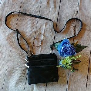 Vegan Leather Crossbody Festival Bag W/Belt Option